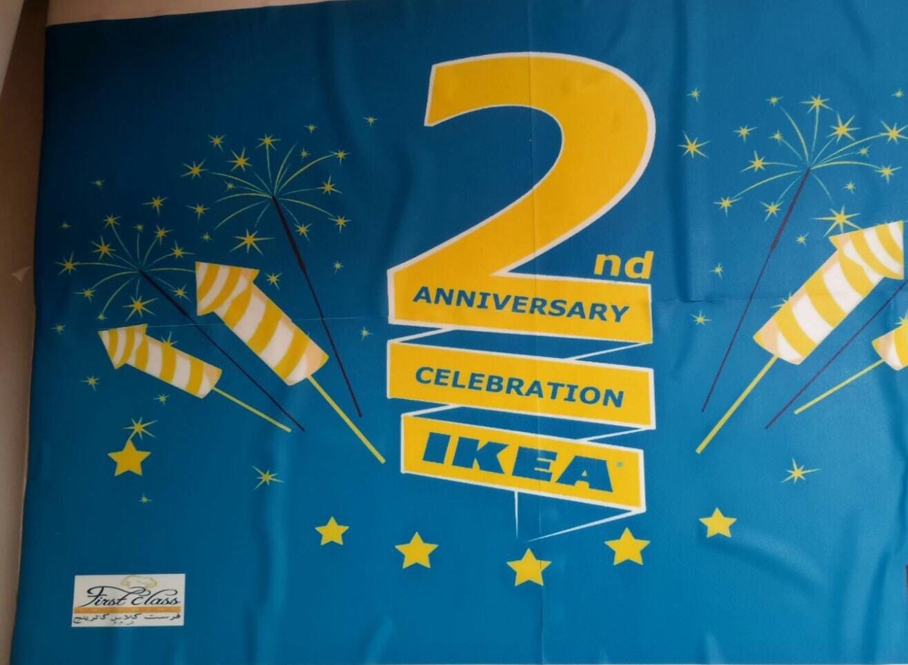 IKEA's 2nd Anniversary