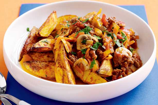 Rice with Minced Meat and Potato Wedges.jpg